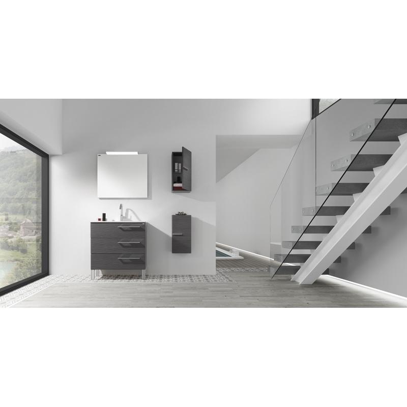 meuble salle de bain vague great meuble salle de bain castorama meuble salle de bain castorama. Black Bedroom Furniture Sets. Home Design Ideas