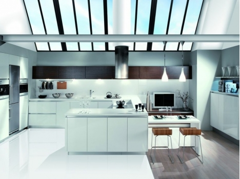 cuisine laque blanche latest cuisines armony modle yota plan de travail en inox laque blanche. Black Bedroom Furniture Sets. Home Design Ideas