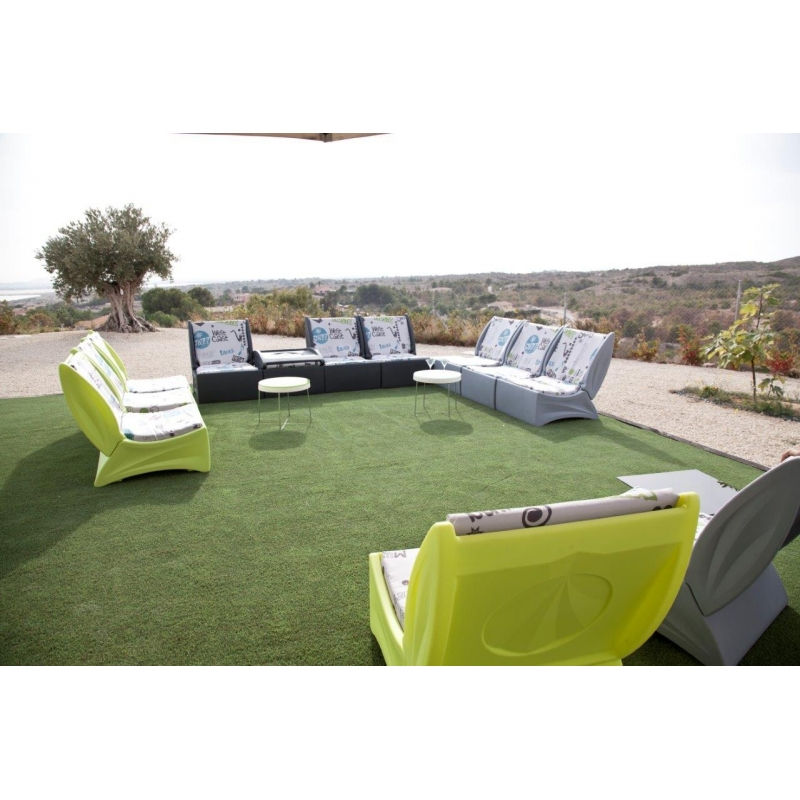 Salon de jardin - Tables et chaises, le mobilier de jardin Alina