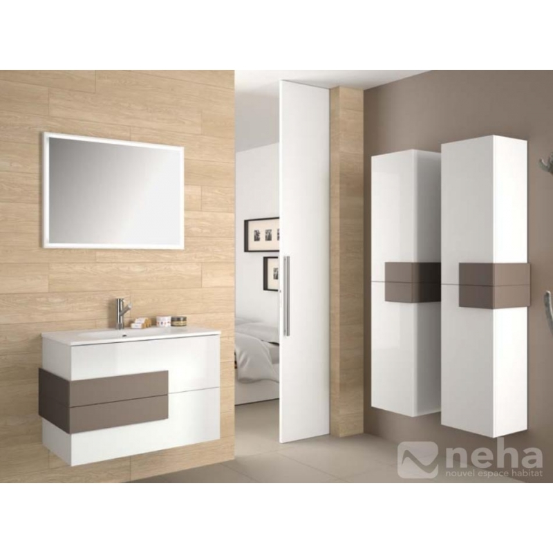 meuble salle de bain bois chene obtenez. Black Bedroom Furniture Sets. Home Design Ideas