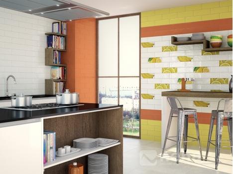 excellent faience jaune orange x with magasin cuisine rouen. Black Bedroom Furniture Sets. Home Design Ideas