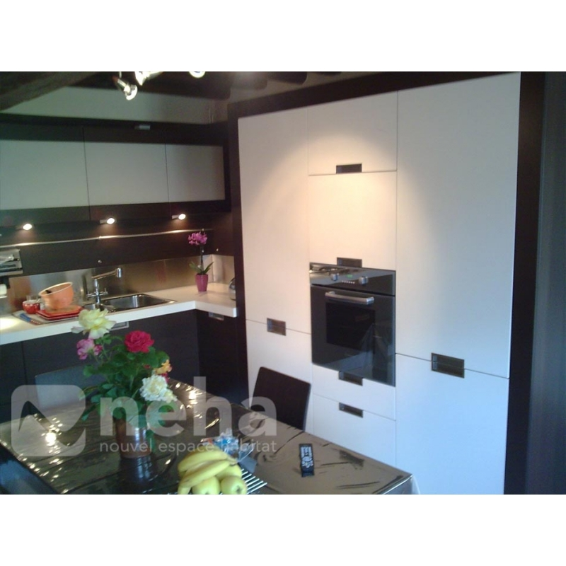 cuisine wenge perfect cuisine wenge with cuisine wenge. Black Bedroom Furniture Sets. Home Design Ideas