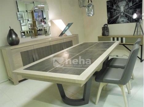 Salle A Manger Complete Bois Et Cramique
