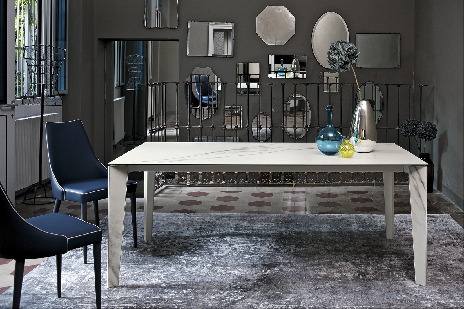 Indogate.com | Table Salle A Manger Marbre Design