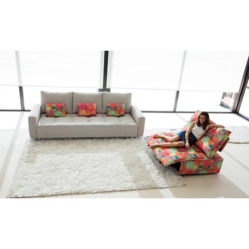 Canapé modulable Urban de Fama garantie 10 ans.Canapé design relax