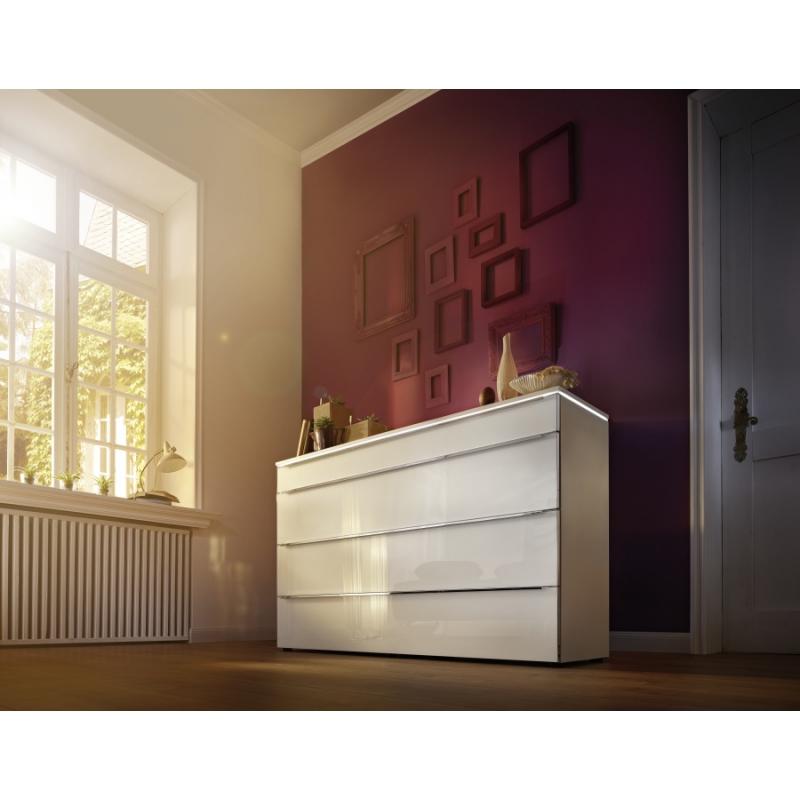 Commode contemporaine, moderne et tendance Laqué mat ou bois modulable
