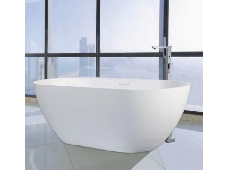Baignoire ilot solide surface pour milieu salle de bain haut gamme76