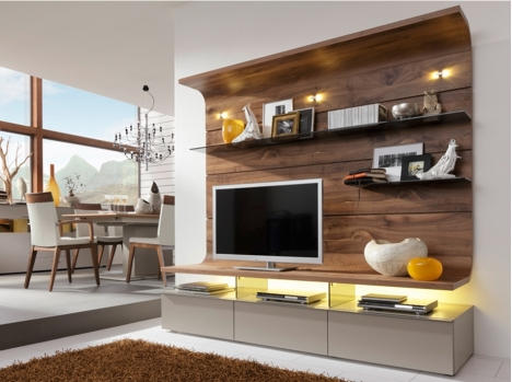 meuble tv composable différents élements:colonne ou meuble tv ... - Meuble Tv Composable Design