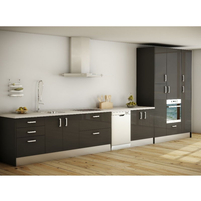 cuisine gris anthracite et rouge cuisine gris et bois. Black Bedroom Furniture Sets. Home Design Ideas