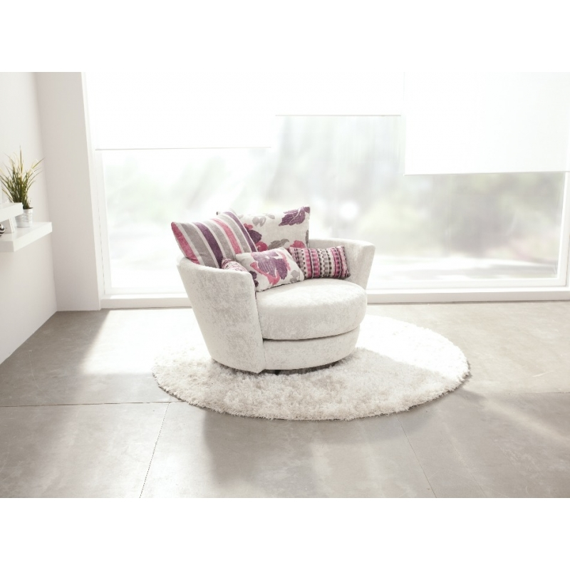 Magasin fauteuil basculant Rond gamme Fama Mynest un confort