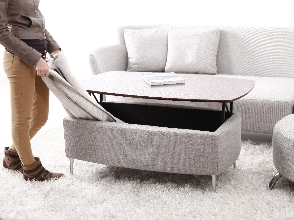 Palette table basse convertible pictures to pin on pinterest - Table basse manger transformable ...