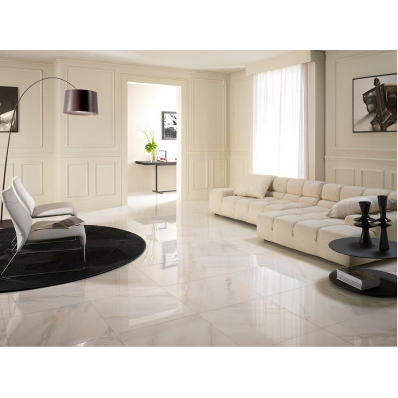 Carreaux de marbre gallery of carrelage marbr blanc poli for Carrelage blanc brillant