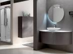 Meuble de salle de bain Taupe L140