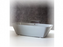Baignoire Solid Surface avec cascade