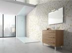 Meuble de salle de bain design vague