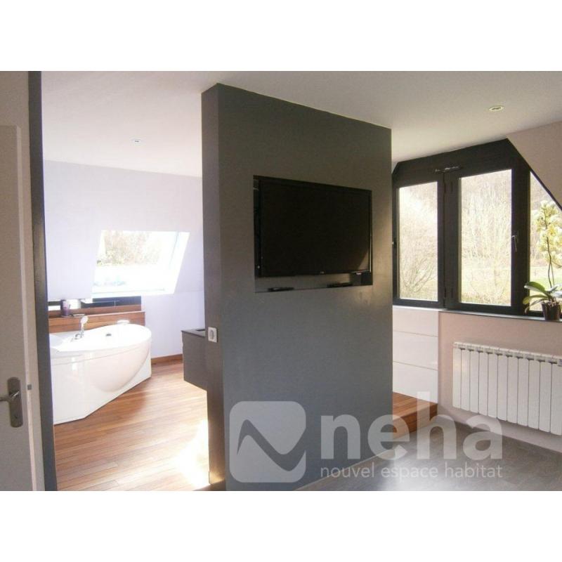 realisation suite parentale salle de bain. Black Bedroom Furniture Sets. Home Design Ideas