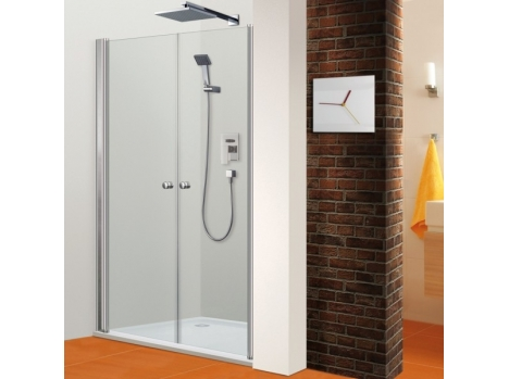 Porte de douche battante