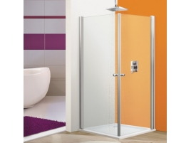 Porte de douche acces angle