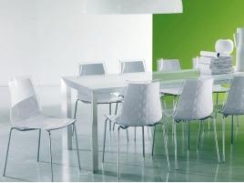 Table Genio et chaise Leyla