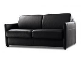 Canapé lit convertible cuir