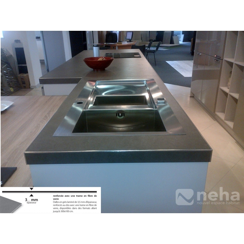 carrelage ultrafin resistant 3mm carreau plat utile en. Black Bedroom Furniture Sets. Home Design Ideas