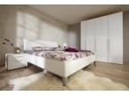 Lit et armoire dressing blanc sur mesure