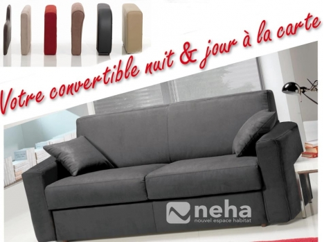 Canapé Convertible a personnalisé