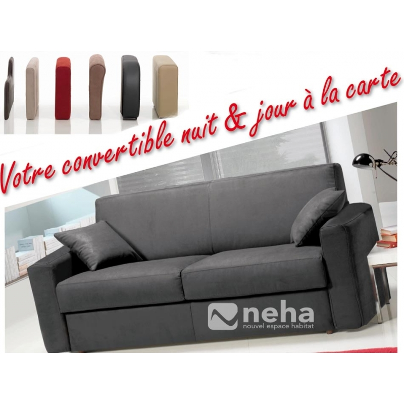 achat canap lit rapido de petite taille convertible pour petit espace. Black Bedroom Furniture Sets. Home Design Ideas