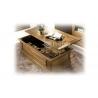 Table basse bar chene classique