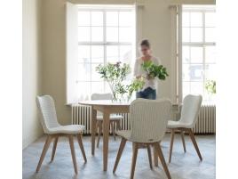 Chaise blanche Lily Pure white (lot de 2)