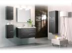 Meuble de salle de bain Vague gris