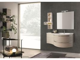 Meuble salle de bain arrondie