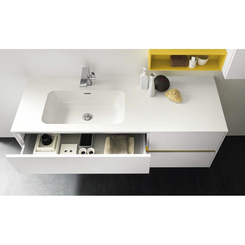 Magasin meuble salle de bain rectangulaire couleur haut gamme italien - Meuble salle de bain italien ...