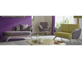 Canapé design tissu couleur tendance déco