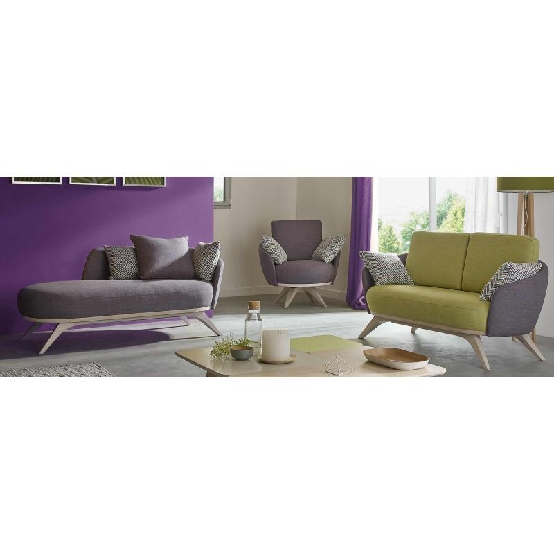 magasin canape tissu deco tendance rouen76 normandie With canapé design couleur