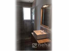 photos r alisation de salle de bain de la cr ation la. Black Bedroom Furniture Sets. Home Design Ideas