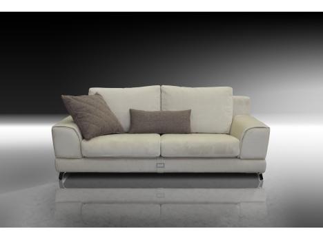 Canapé fixe en cuir