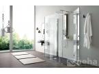 Porte battante latérale pour douche