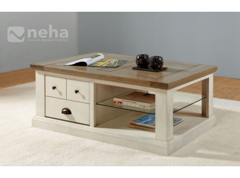 Table basse rectangulaire Romantica