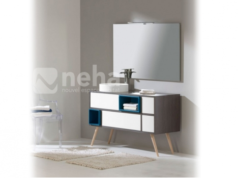 Meuble de salle de bain scandinave