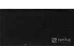 Faience noir 10x30cm