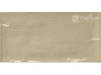 Faience taupe 10x30cm