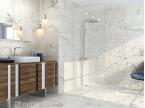 Salle de bain marbré