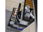 Cuisine tiroirs de rangement