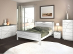 Chambre grise, blanche
