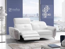 Canapé moderne cuir ou tissu