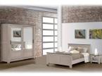 Chambre chene naturel et grise
