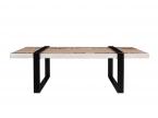 Table basse avec carreaux de ciment