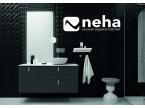 Meuble salle de bain noir mat