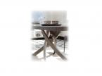 Table design rectangulaire Artistico avec rallonges